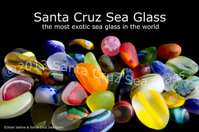 Santa Cruz Sea Glass - the most exotic sea glass in the world.  (PRNewsFoto/SantaCruzSeaGlass.com)