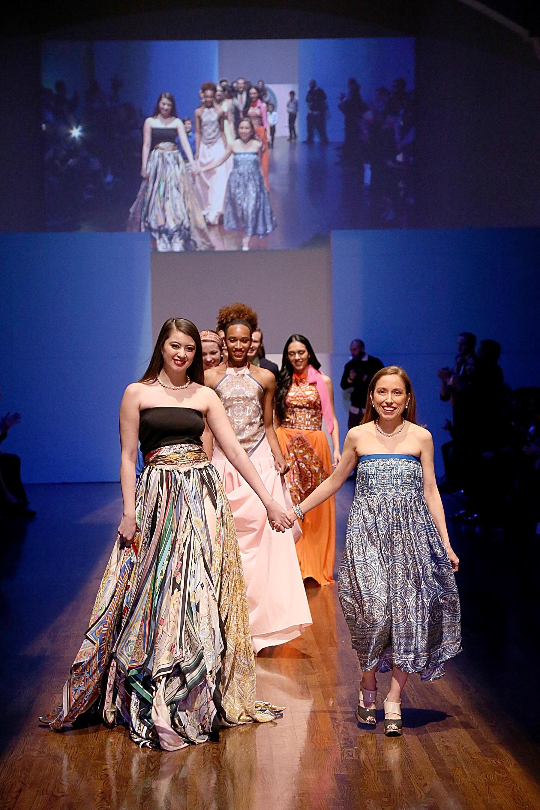 Marisol Deluna 25th Anniversary In Fashion Runway Show
