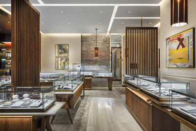 David Yurman Boutique Interior Shot At Ala Moana Center In Honolulu Hawaii Photo Credit