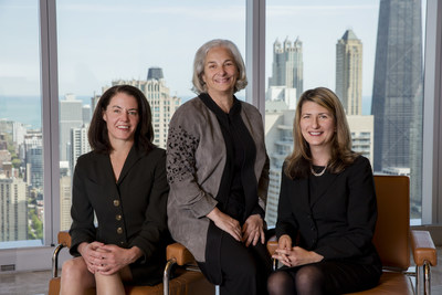 (left to right) Anne E. Brynn, H. Debra Levin, Barbara Grayson of Jenner & Block. Levin and Grayson are co-chairs of Jenner & Block's Private Wealth Practice.