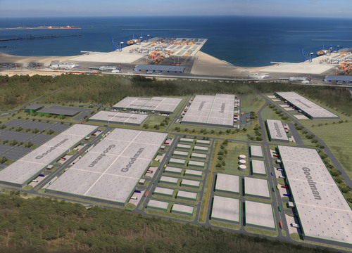 Goodman wins tender to develop a 500.000 sqm industrial and logistics centre at port of Gdansk