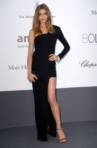 Ana Beatriz Barros wearing AVAKIAN at the amfAR Gala 2013.