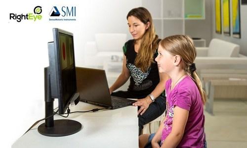 Screen-based SMI Eye Tracking selected for RightEye vision testing (PRNewsFoto/SensoMotoric Instruments GmbH) ...