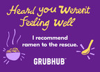 Grubhub Introduces Gift Cards