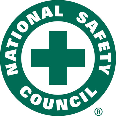 National Safety Council. Contact NSC Marketing Creative Services, betsy.thomas@nsc.org or 630-775-2212, regarding logo usage standards. (PRNewsFoto/National Safety Council)