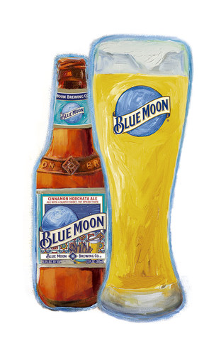 Blue Moon Cinnamon Horchata Ale (PRNewsFoto/Blue Moon Brewing Company) (PRNewsFoto/Blue Moon Brewing Company)