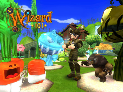 Gardening comes to the magical world of Wizard101.  (PRNewsFoto/KingsIsle Entertainment, Inc.)