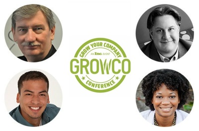 "Bruce Clay, Duane Forrester, Manny Rivas and Maisha Walker will share their Internet marketing expertise in GROWCO's ""Search   Social: The Future of Your Business Online"" presentation May 20-22 in Nashville (PRNewsFoto/Bruce Clay)"