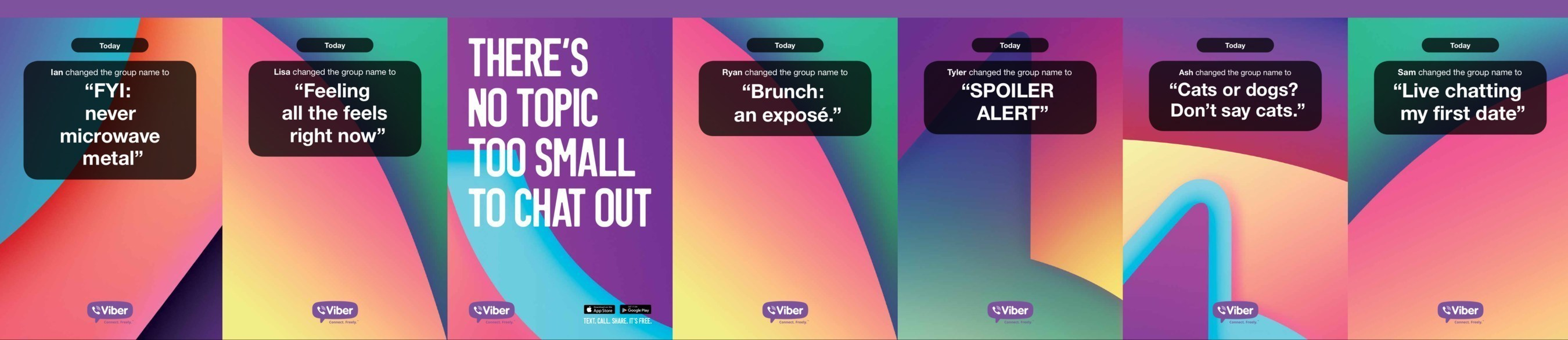 Viber Celebrates The Art Of The Daily Conversation - Launches New Brand Platform Called 'Chat'