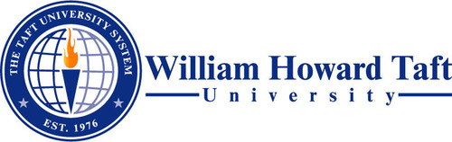 William Howard Taft University logo.  (PRNewsFoto/William Howard Taft University)