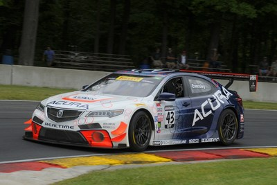 Ryan Eversley followed up his victory Saturday at Road America with a second Pirelli World Challenge race win Sunday in Elkhart Lake, Wis.