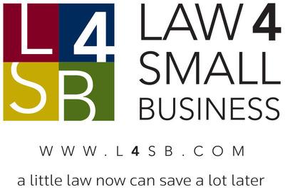 Law 4 Small Business Logo. (PRNewsFoto/Law 4 Small Business)