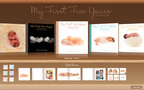 "Anne Geddes' bestselling baby record book My First Five Years now available in a digital edition from the Mac App Store ""It only takes a moment to create a memory."" Anne Geddes.  (PRNewsFoto/Anne Geddes)"
