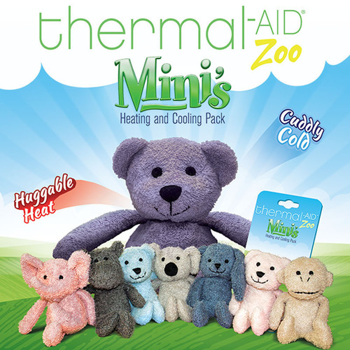 Thermal-Aid Zoo Releases a Miniature Collectable Version of its Popular Heating and Cooling Pack for Kids.  (PRNewsFoto/Pacific Shore Holdings, Inc.)