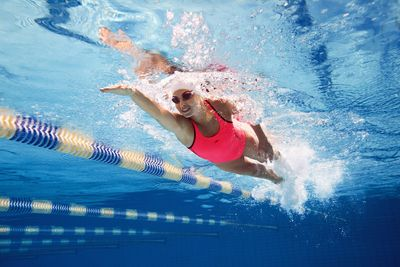 Speedo has commissioned research which reveals that swimming regularly has psychological benefits