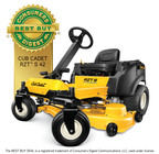 In the March issue of Consumers Digest, editors proclaimed the Cub Cadet RZT(TM) S 42 4-Wheel Steer Zero-Turn Rider as a Best Buy in the zero-turn-radius (ZTR) riding lawn mower product category. According to the publication, the Best Buy designation is only applied to those products that deliver exceptional value -- a rating reserved for fewer than three percent of the competing models in any given product category.  (PRNewsFoto/Cub Cadet)