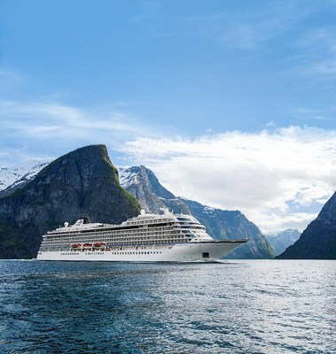 The 930-passenger Viking Star sails in the fjords near Flam, Norway. Viking Ocean Cruises was just named #1 Ocean Cruise Line in 2016 World's Best Awards by Travel + Leisure readers, ending a competitor's 20-year winning streak.