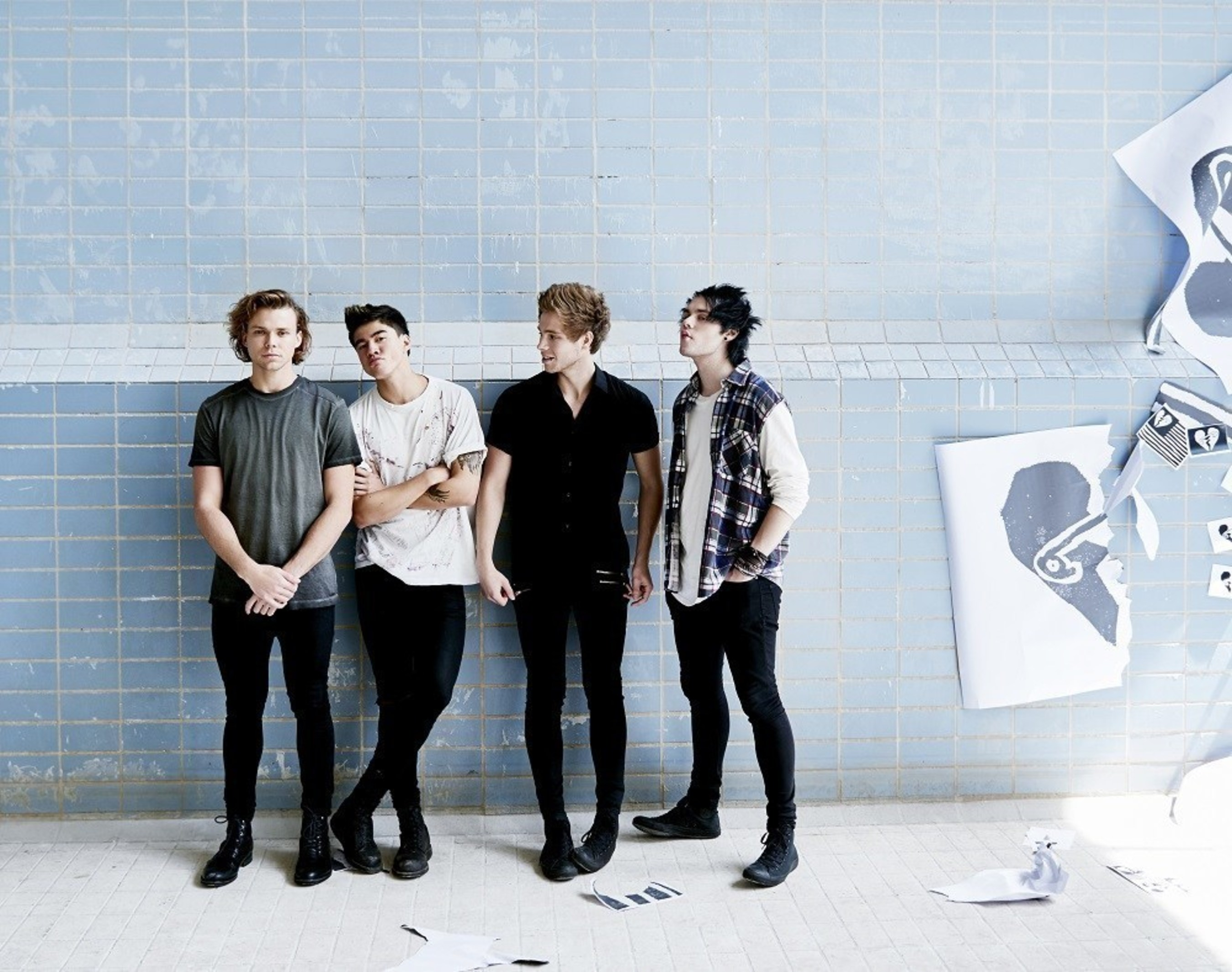 5 Seconds Of Summer Announce 2016 North American Leg Of 'Sounds Live Feels Live' Tour