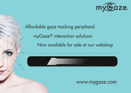 Affordable gaze tracking peripheral myGaze (R) interaction solutions. Now available for sale at our webshop: ...