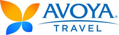 Avoya Travel logo.  (PRNewsFoto/Avoya Travel / American Express)