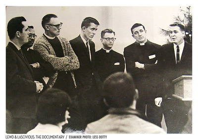 Straight Minister involved in the 1965 raid.  (PRNewsFoto/Mark Hollenstein)
