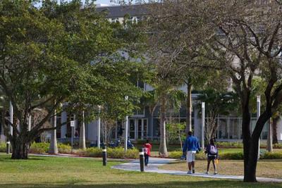 The Arbor Day Foundation recently announced that Nova Southeastern University (NSU) has earned its 2013 Tree Campus USA designation. (PRNewsFoto/Nova Southeastern University) (PRNewsFoto/NOVA SOUTHEASTERN UNIVERSITY)