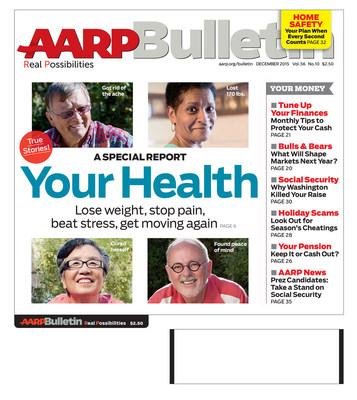 AARP Bulletin December Cover