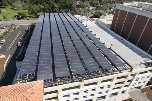 SANYO HIT Panels Installed for Largest California Solar Initiative System in Long Beach