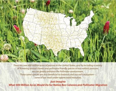 Just imagine how 400 million acres could benefit pollinator habitat