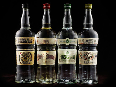 The 86 Company's line up of new spirits.  (PRNewsFoto/The 86 Co.)