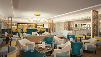 Cunard Introduces the Stylish Carinthia Lounge on Queen Mary 2
