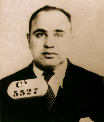 Philadelphia, PA - Al Capone, Chicago's most famous mob boss, spent eight months at Eastern State Penitentiary in 1929-1930. Arrested for carrying a concealed, deadly weapon, this was Capone's first prison sentence. His time in Eastern State was spent in relative luxury. His cell on the Park Avenue Block had fine furniture, oriental rugs, and a cabinet radio.