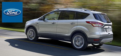 The 2015 Ford Escape has impressed critics from every corner of the auto industry with its stable drive quality and sporty performance features. (PRNewsFoto/Mike Castrucci of Alexandria)