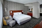 The new room design recently unveiled at the Courtyard Philadelphia Plymouth Meeting enhances comfort and quality while adding convenience and technological upgrades for today's modern traveler. The complete refresh follows Courtyard's signature CYnergy package room design with indirect lighting and neutral color palettes for a welcoming and relaxing environment that is perfect for weary travelers. For information, visit www.PlymouthMeetingCourtyard.com or call 1-610-238-0695. (PRNewsFoto/Courtyard Philadelphia Plymouth)