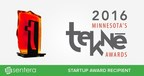 Sentera Honored With Startup Award of 2016 by Minnesota High Tech Association