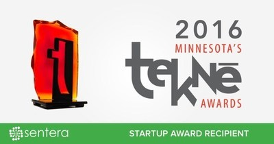 Sentera wins 2016 Tekne StartUp Award, presented by the Minnesota High Tech Association