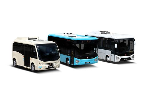 Upgrade Your Business with Karsan Products! JEST is a low-floor minibus solution that gives urban passengers the comfort of a large bus. It is designed to feed into the main lines of a transit system. It is easily accessible, built for purpose, spacious, eco-friendly, cost-effective and has world class safety among other additional features. ATAK, a larger version of JEST, is also a low-floor, efficient and modern public transport vehicle. Features include panoramic view, comfortable riding and rich equipment options. STAR, the short-distance intercity transportation/shuttle bus version of ATAK, possesses the DNA of a coach. Luggage space is the best of its class, has a silent engine, a foldable entertainment screen and wi-fi connection. (PRNewsFoto/Karsan Italy S_R_L_)