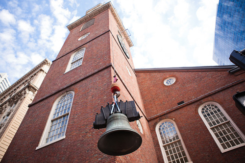 Historic Paul Revere Bell Finds New Home at Boston's Old South Meeting House