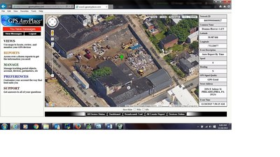 Stolen aluminum concrete forms recovered using GPS technology