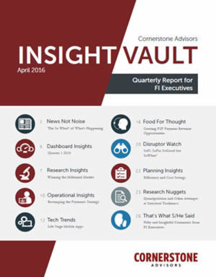 Insight Vault Quarterly Research for FI Executives