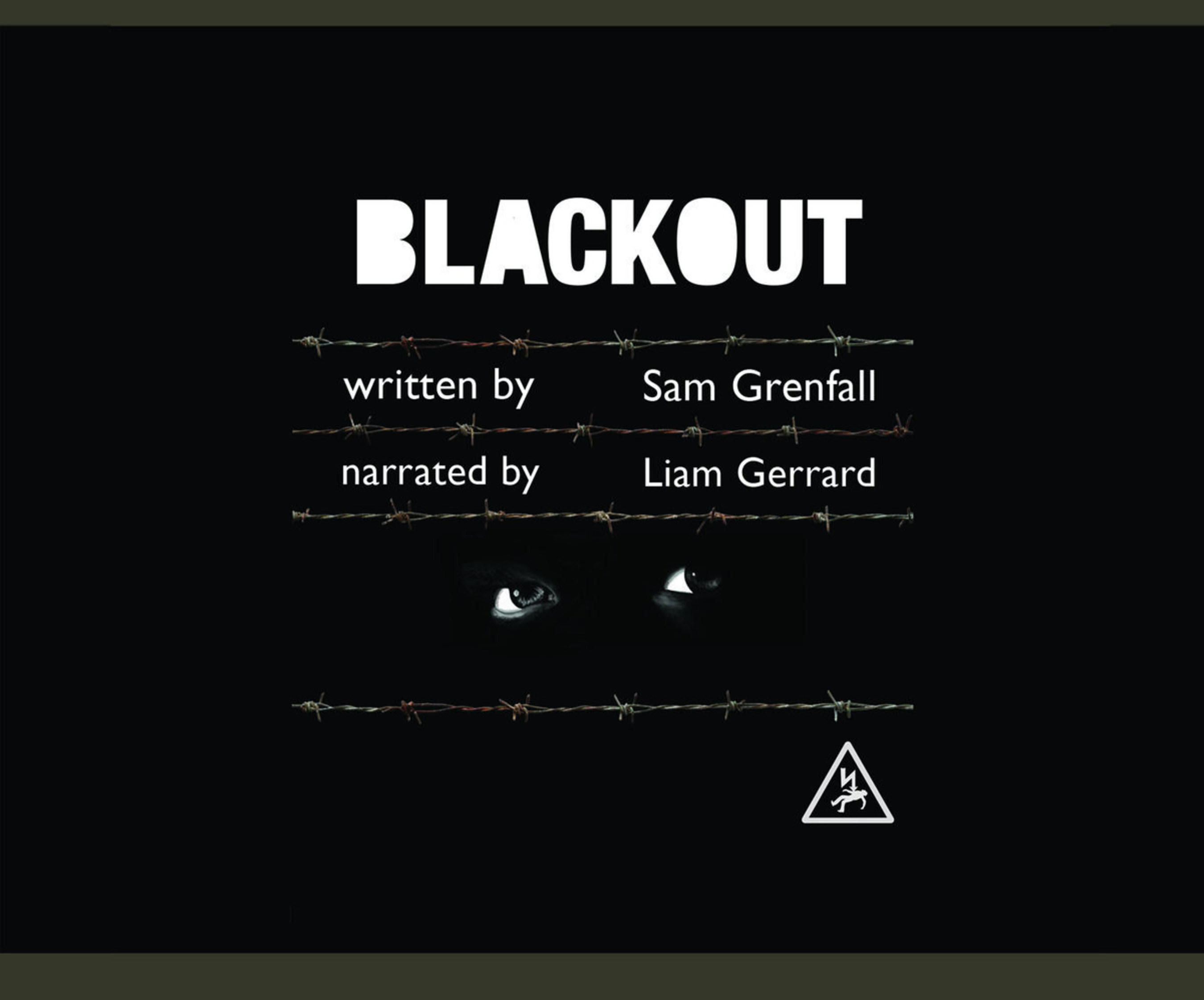Blackout by Sam Grenfall, cover illustrated by Winnie O'Brien