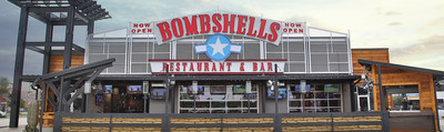 Bombshells Restaurant & Bar at 21005 I-45 North in Spring, TX, one of soon to be four locations in and around Houston