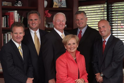 The Kelly Family: Former Senator Francis X. Kelly and his wife, Janet, with their four sons (from left): John, Frank III, David and Bryan