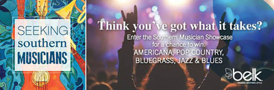 Belk is now accepting entries for the 2014 Southern Musician Showcase.(PRNewsFoto/Belk, Inc.)