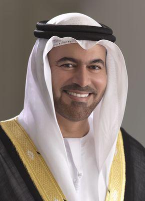 Mohammed bin Abdullah Al Gargaw - Minister of Cabinet Affairs (PRNewsFoto/The 'UAE Drones for Good Award')