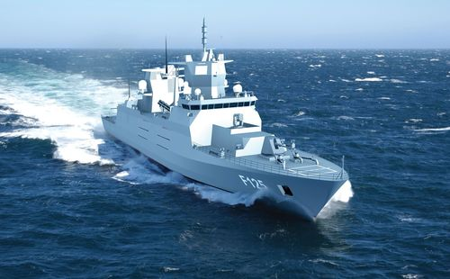MKU GmbH On-board the Euro 650 Million F-125 German Frigate Project (PRNewsFoto/MKU GmbH)