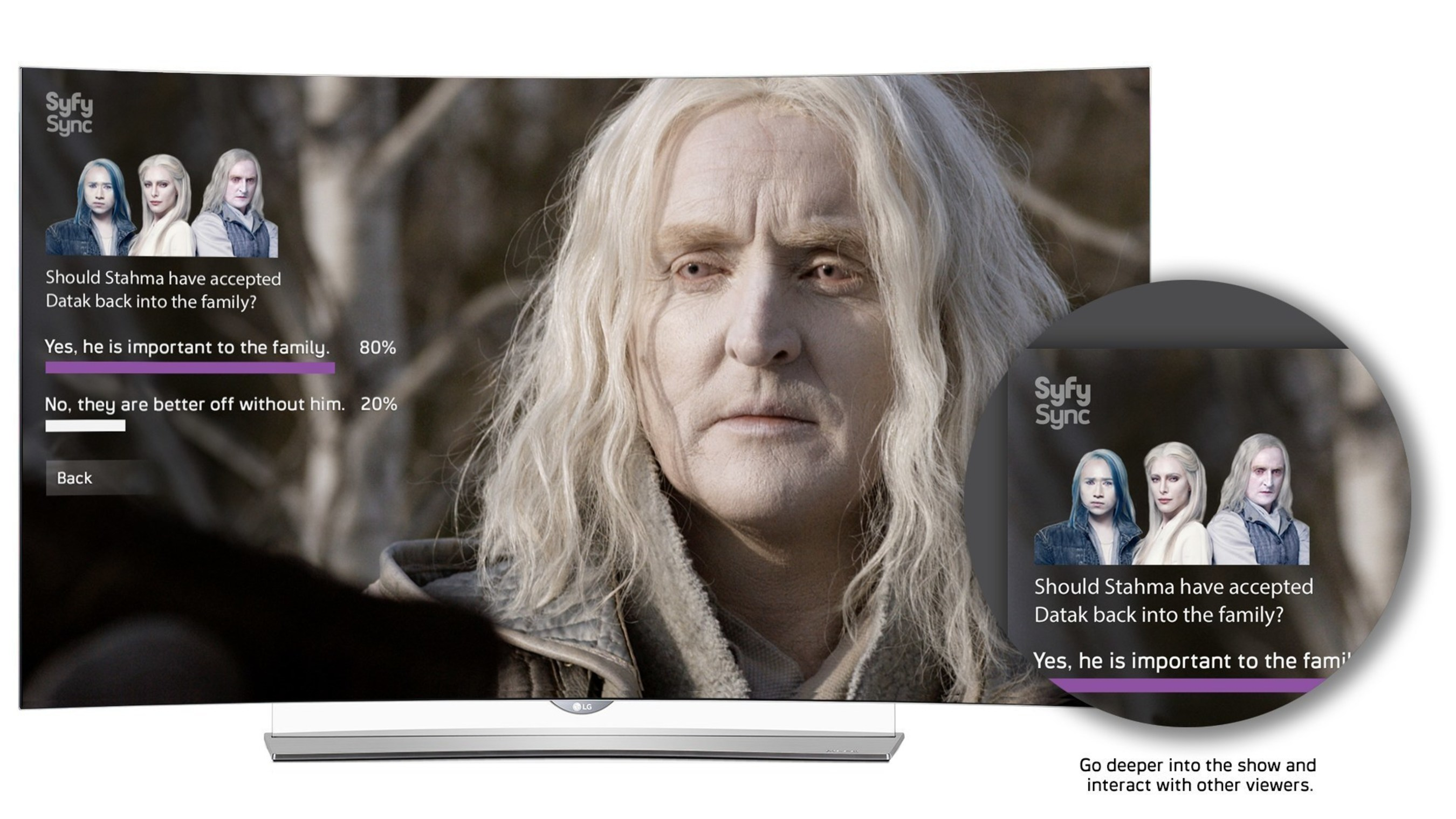 Syfy And LG Team Up To Deliver A New Interactive TV Experience