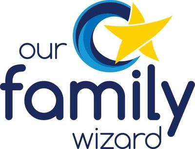 Logo for the Our Family Wizard website and mobile apps.
