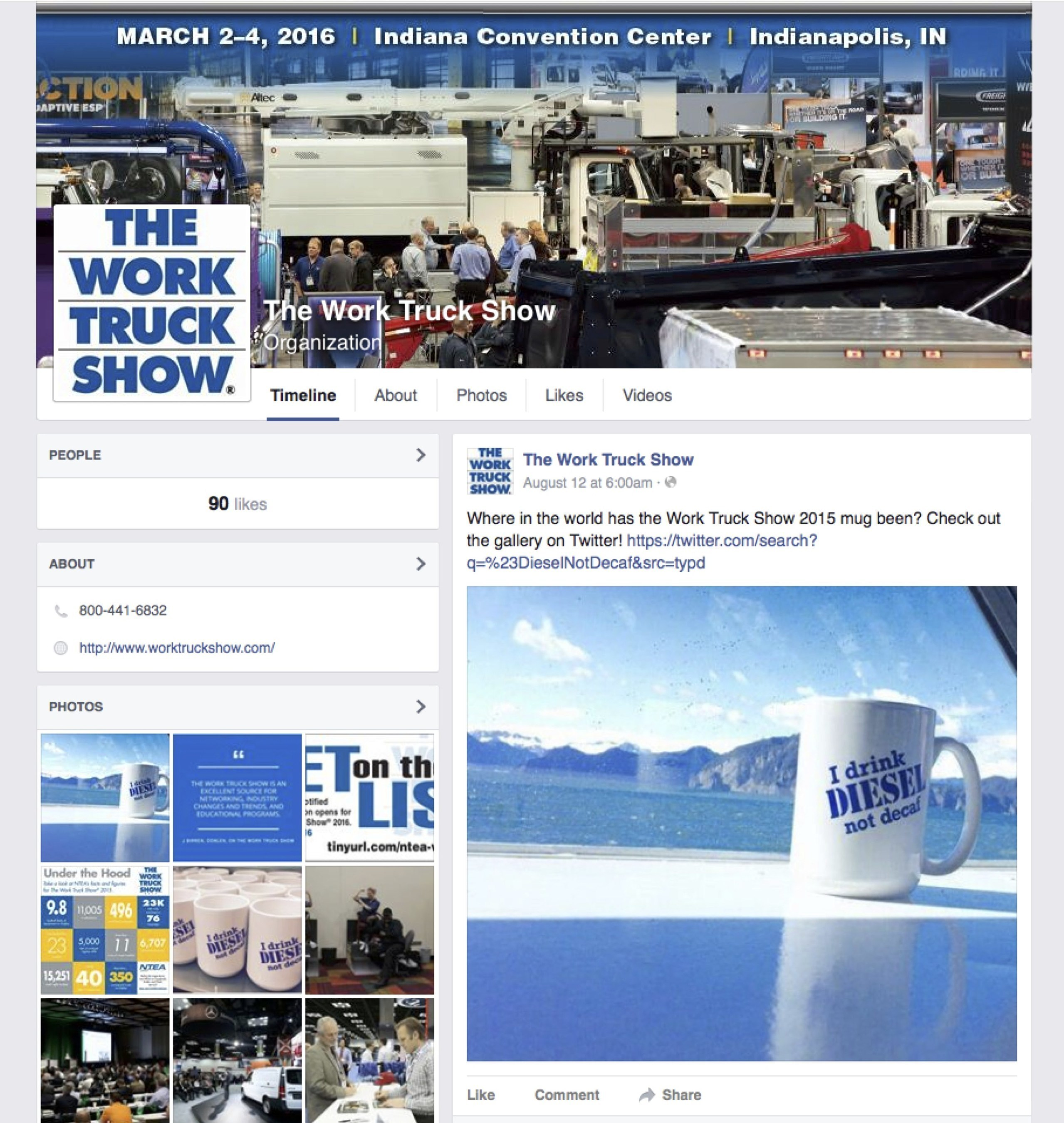 Position yourself for a successful Work Truck Show by following new social media accounts