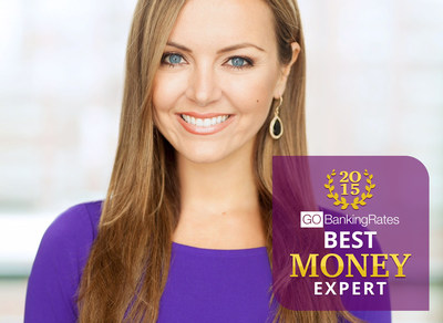 Nicole Lapin is Crowned the 'Best Money Expert of 2015' in GOBankingRates' Competition